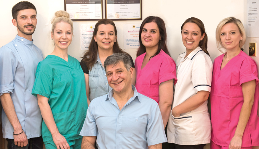 Fox Lane Dental Care, Palmers Green London team