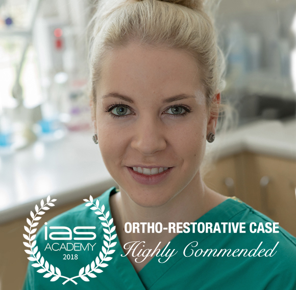 Maria Kocisova MDDR (Czech) Associate Dentist HIGHLY COMMENDED ORTHO-RESTORATIVE CASE